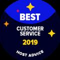 La insignia de Mejor Atención al Cliente se otorga a empresas cuyo soporte por email y teléfono ha sido testeado por nuestros editores en forma anónima y ha demostrado ser genial.