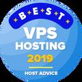 Otorgado a empresas entre las 10 mejores en la categoría alojamiento web vps