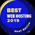 Otorgado a empresas entre las 10 mejores en la categoría alojamiento web