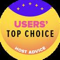 Otorgado a las 10 mejores empresas de hosting con las calificaciones de usuarios más altas